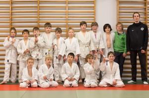 Judo graduering børn 19-02-2014